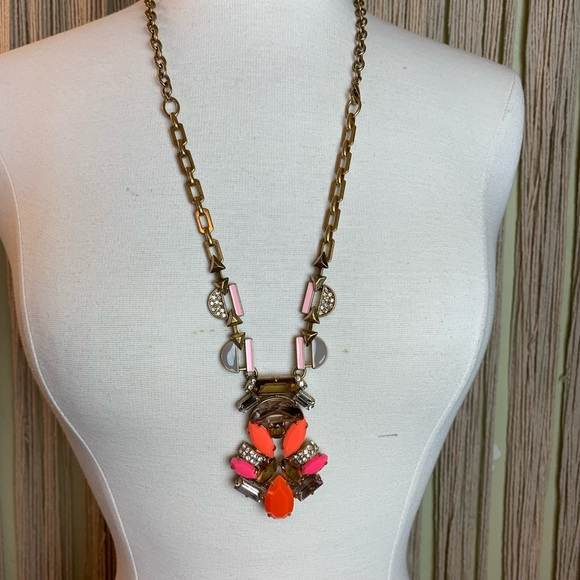 Stella & Dot Jewelry - Stella & Dot Long Necklace with Faux Coral
